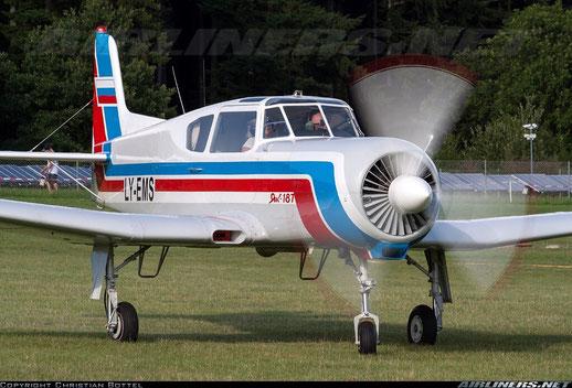 Yakowlew Yak-18T - LY-EMS