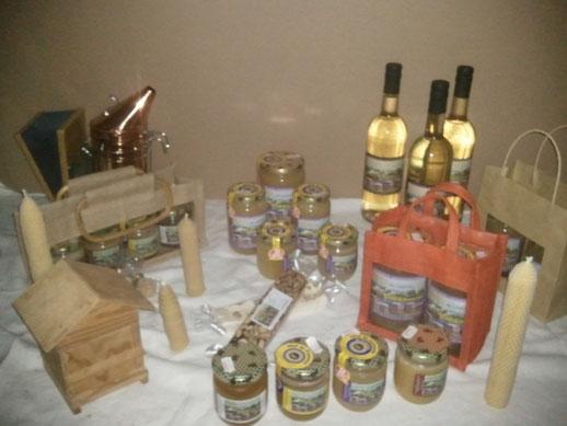 nougat, hydromel, miel de lavande label rouge