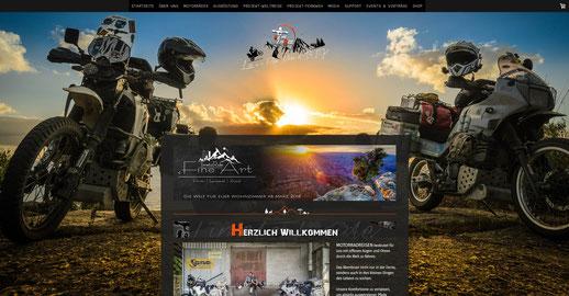 Jimdo Webseiten Baukastenauch für Reisen optimal
