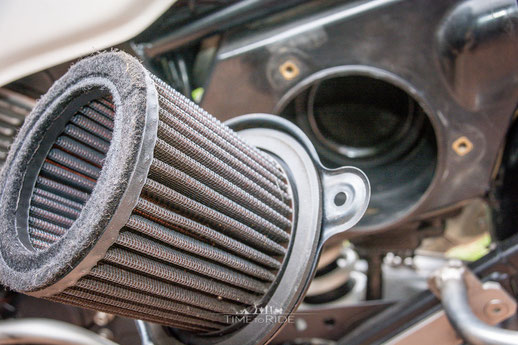 K&N Luftfilter - Honda Transalp Umbau - Modification