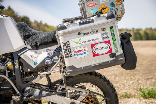 Touratech Zega Pro Koffersystem - Honda Transalp Umbau - Modification
