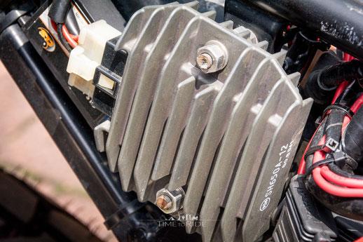 Motek Spannungsregler - Honda Transalp Umbau