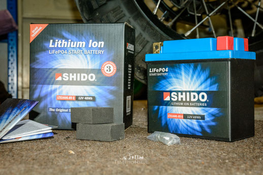 Shido Lithiumbatterie für Honda Transalp