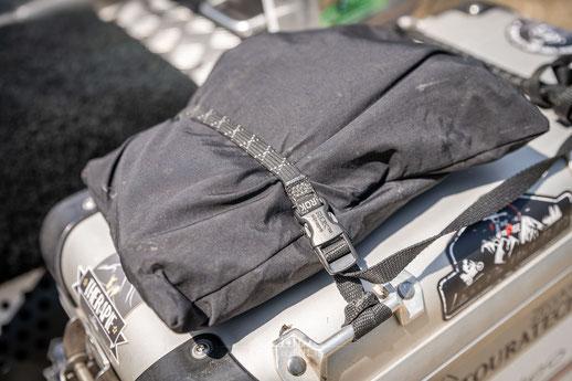 Kofferdeckeltasche Touratech - Honda Transalp Umbau