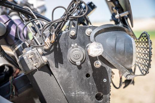 12V Bordsteckdose für Motorrad Reiseumbau