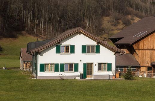 Unterbergen 1, Bauernhaus. Aufnahmedatum: 13.01.2014