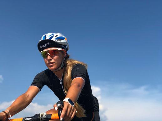 Julia Mayer Saisonpause Radfahren Laufen Läuferin Wien Österreich Craft Sportswear