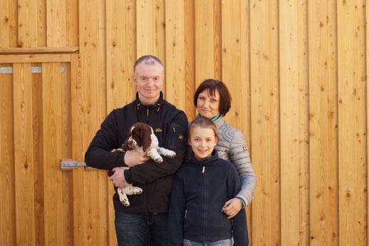 """""""Kasimier vom Belauer See"""" mit seiner glücklichen Familie, Foto: Ulf F. Baumann"""