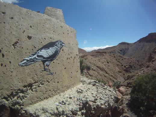 Route Ouarzazate - Demnate - Avril 2013