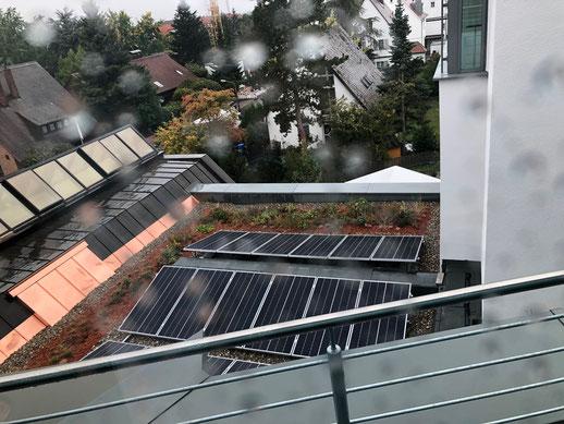 iKratos Photovoltaik auf dem Schultheiss Wohnbau AG Firmengebäude