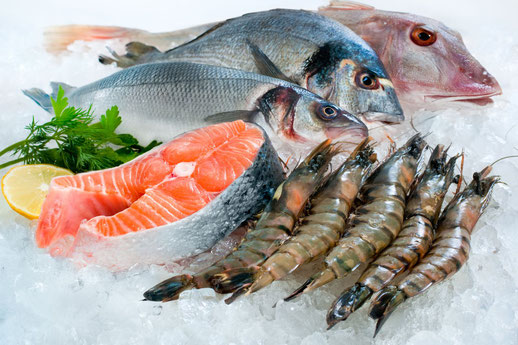 dự ứng khi ăn đồ hải sản