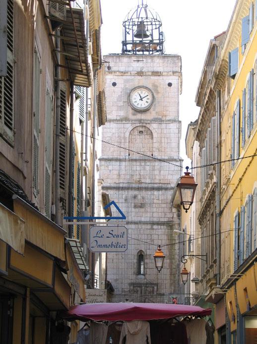 Bild: Uhrturm in Apt, Tour de l´Horloge