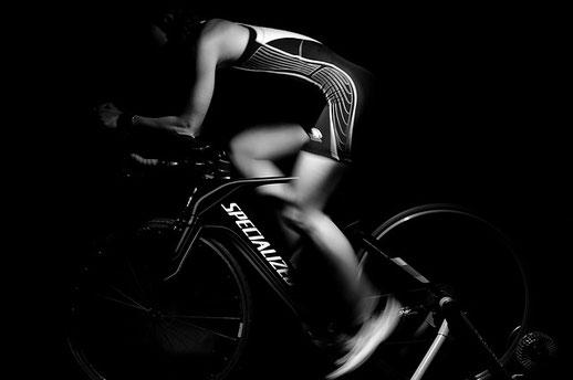 自転車トレーニング鍼灸