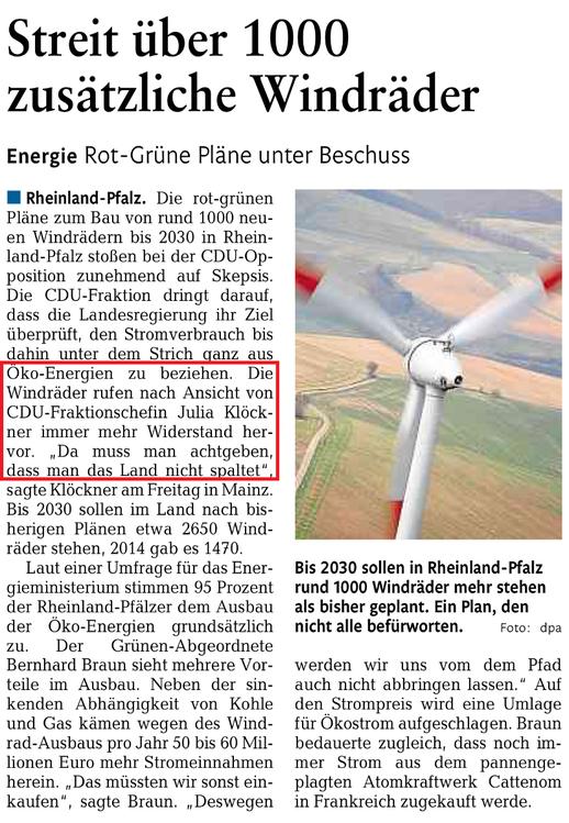Rhein-Lahn-Zeitung v. 23.05.2015