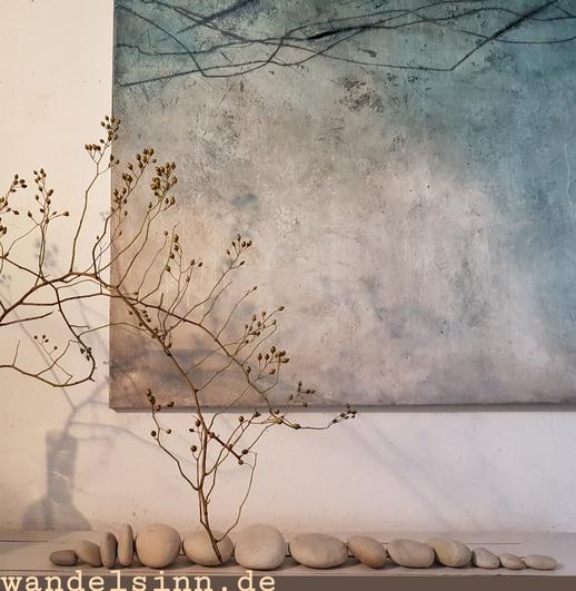 Wandelsinn Impressionen im Kunstsalon Atelier Bettina Hachmann