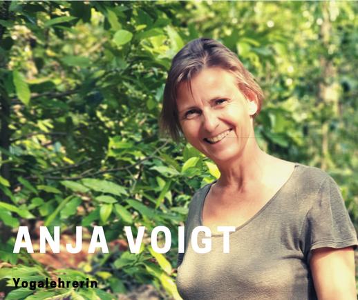 Anja Voigt - Yogalehrerin bei Yamida