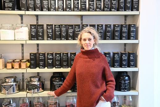 Silke Gimnich in ihrem Unverpacktladen in Köln