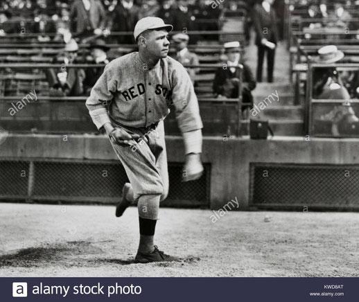 Nella foto Babe Ruth