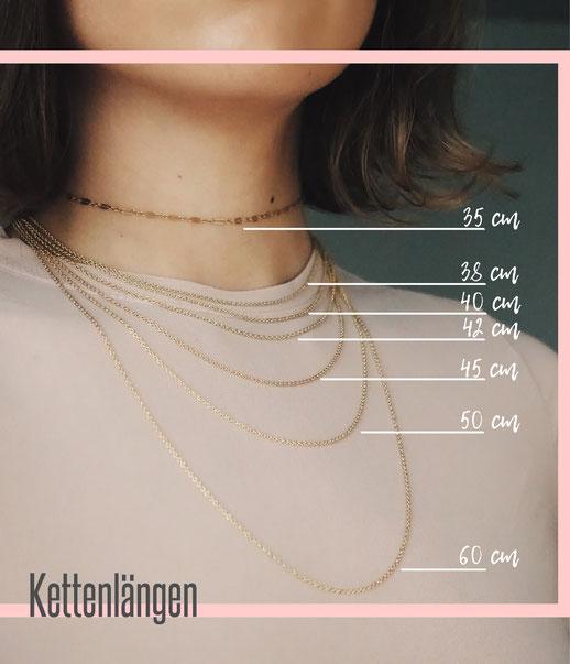 Kettenlängen Infografik von ST'ATOUR
