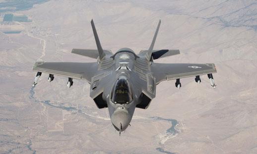 Lockheed Martin F-35 Lightning II / © USAF