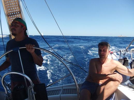 Mitsegeln mittelmeer Korsika Sardinien Aktivurlaub für Singles