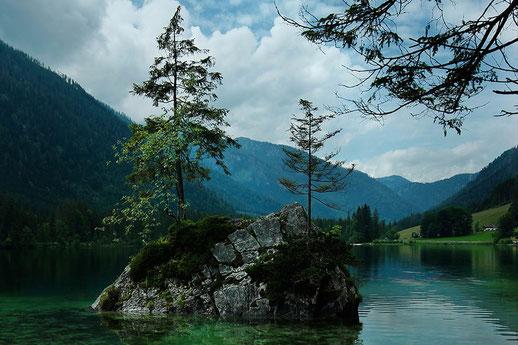 Hintersee Ramsau, Berchtesgadener Land, Nationalparks Deutschland