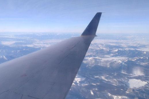 Abschied in einer Fernbeziehung, Flug USA Deutschland, binationale Beziehung