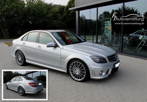Mercedes Benz C 63 AMG 457 PS