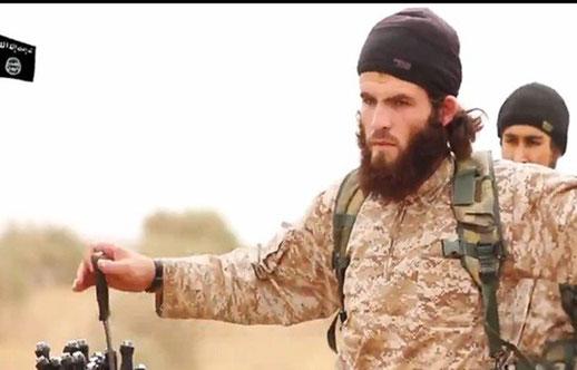 Boucher jihadiste au travail