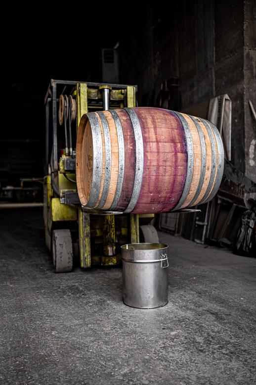 Befüllung mit Rohkaffee aus Guatemala (Varietät: Caturra, Paché)