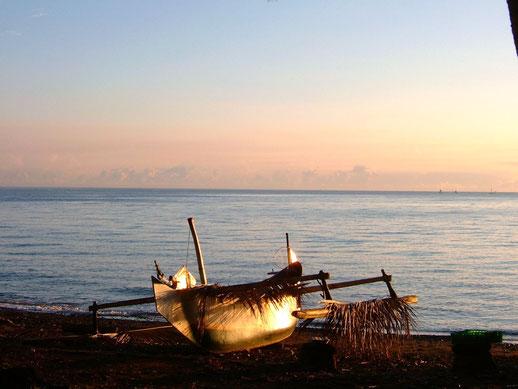 Boot am Meer