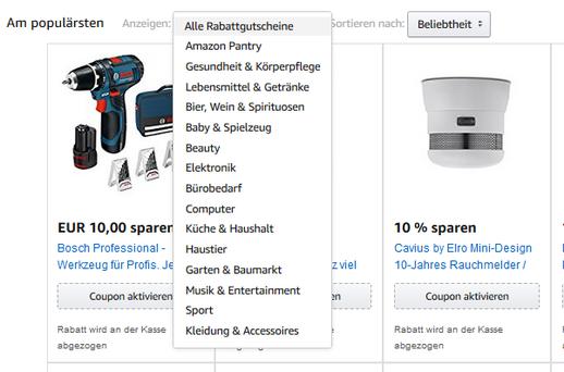 Amazon Aktionscode Beispiele