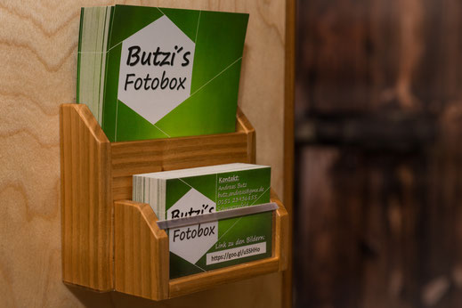 Equipment Butzisfotoboxs Webseite