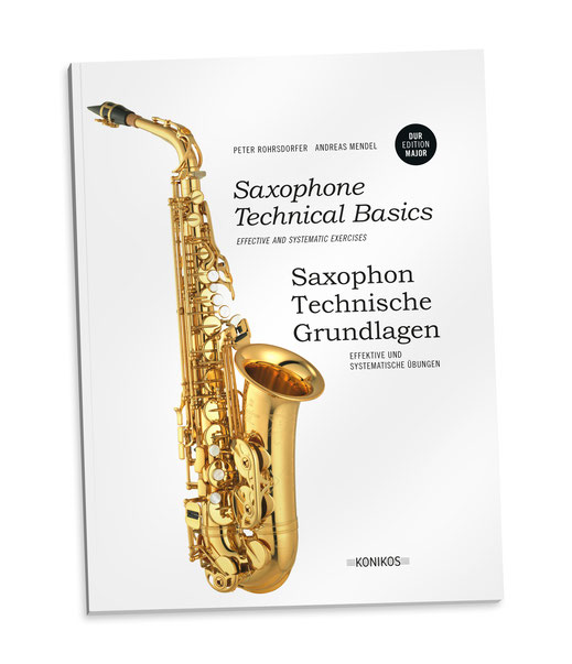 Exercise book saxophone by Andreas Mendel