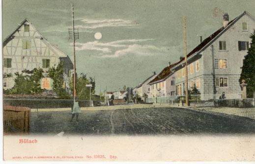 Herti mit Hertibrunnen ca. 1905