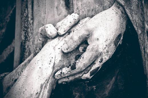 Détail d'une sculpture en pierre