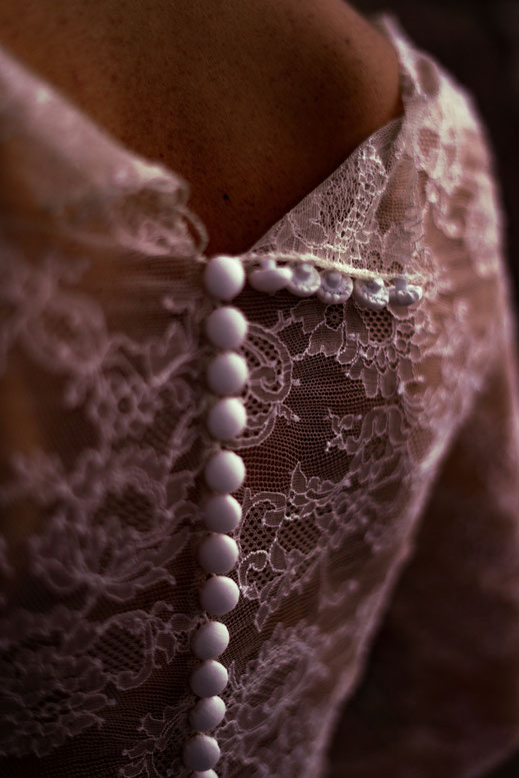 Jupon personnalisée  de robe de mariée en tulle