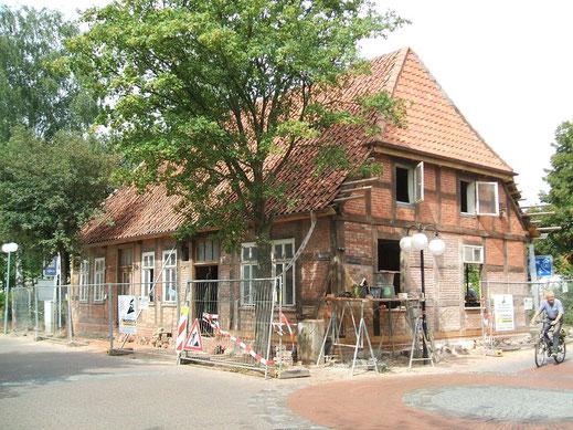 Wiederherstellung des Gebäudes Waldstr. 3 in den Jahren 2008 - 2010