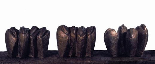 Quadriga I, II und III, Bronze
