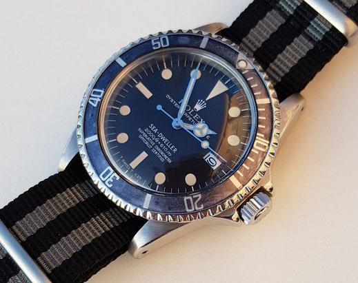 Nato Strap 20 mm textiles Durchzugsband Rheingold watches
