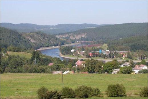 Talsperre Kamyk in Tschechien