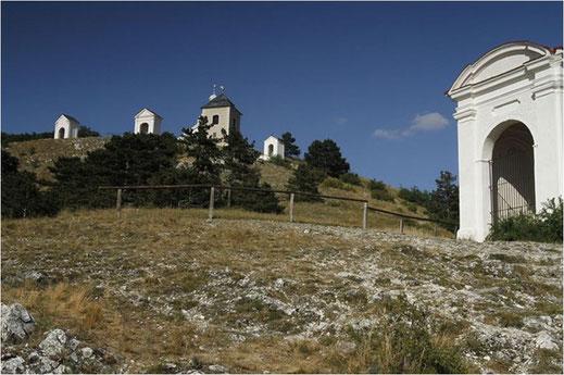 Heiliger Hügel bei Mikulov