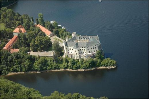 Burg Orlik in Tschechien