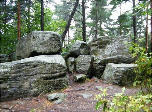 Gottes Steine bei Strakonice