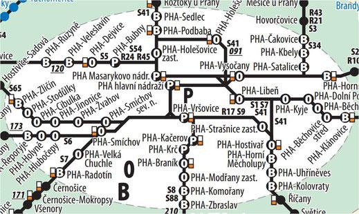 ZONA P (Innenstadt) in Prag