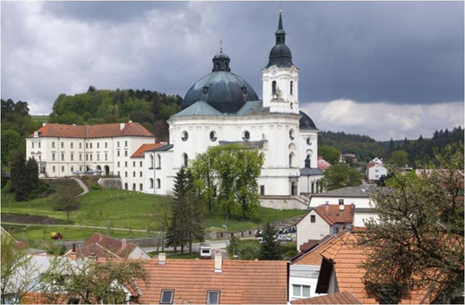 Wallfahrtskirche von Krtiny