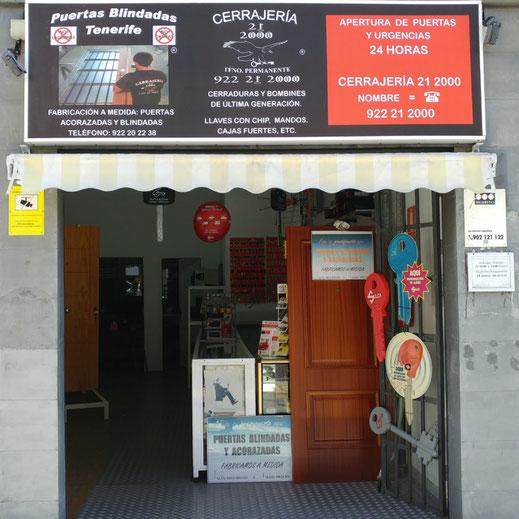 Cerrajeros Tenerife 24 horas - Cerrajeria 21 2000