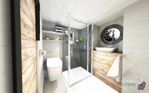 Tiny House - aménagement - salle de bain