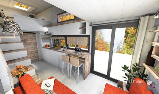 Tiny House, conception, aménagement