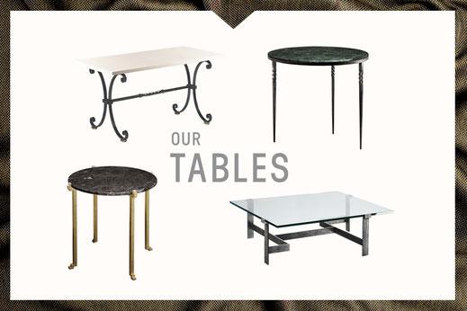Notre collection de tables Mobilier De Style